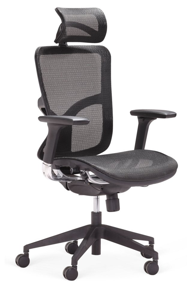 Davidson High-Back Office Chair, Black