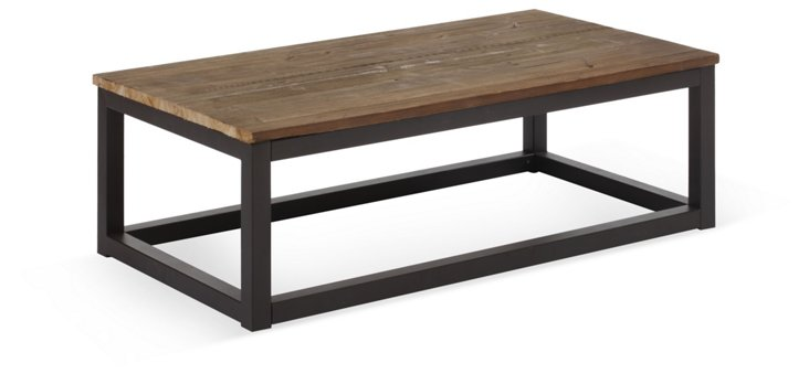 Civic Coffee Table, Distressed Natural