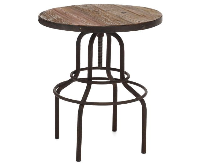 Twin Peaks Counter Table, Natural