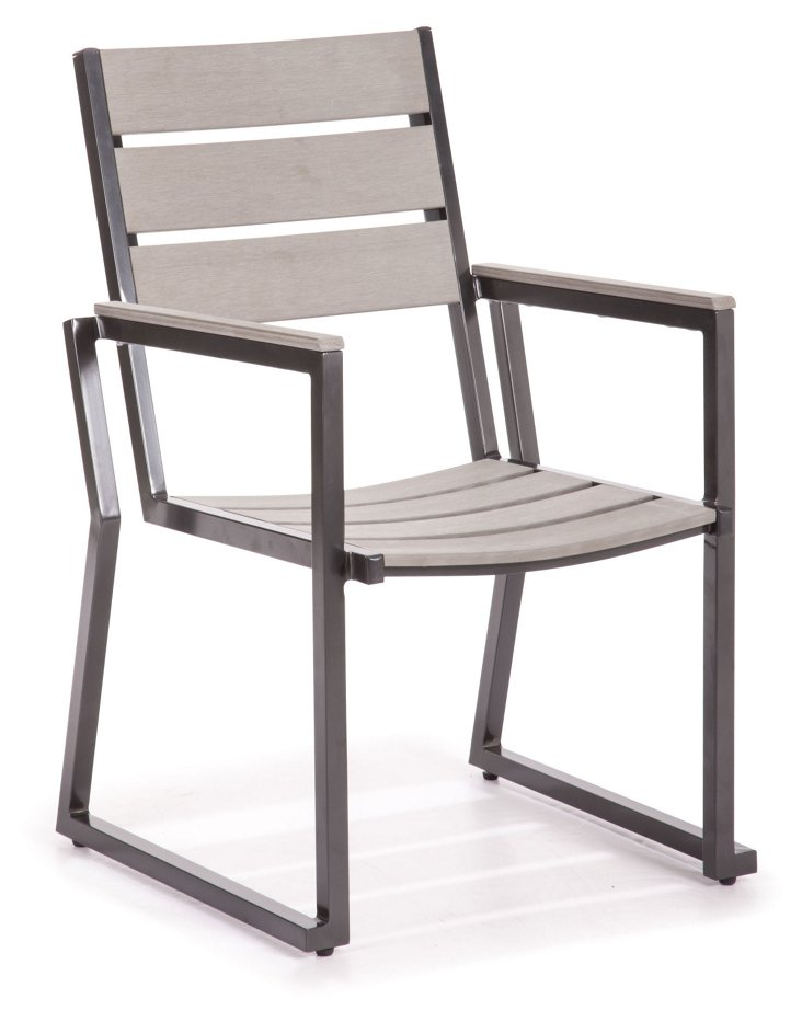Megapolis Dining Chair, Gray