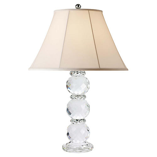 Daniela Table Lamp, Crystal