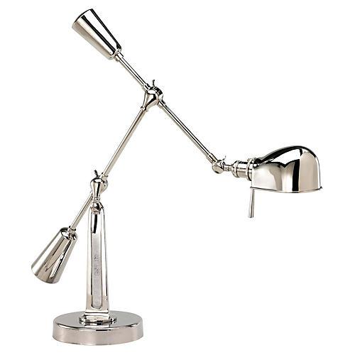 RL '67 Boom-Arm Desk Lamp, Polished Nickel