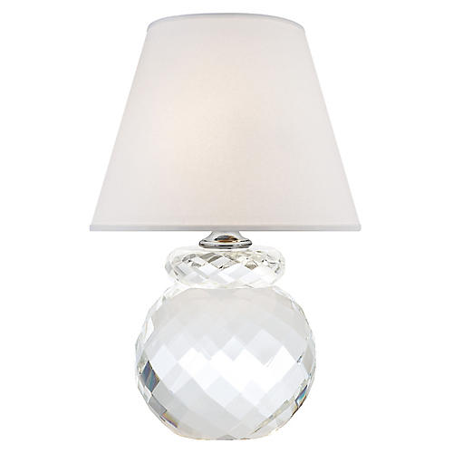 Daniela Accent Lamp, Crystal