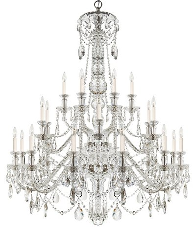Daniela 24 light chandelier crystal ralph lauren home brands one kings lane