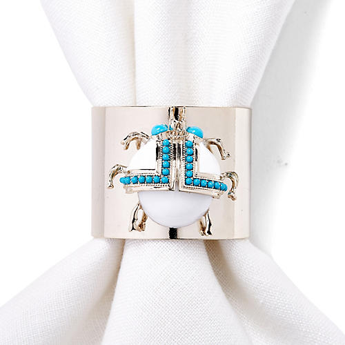 S/2 Beetle Napkin Rings