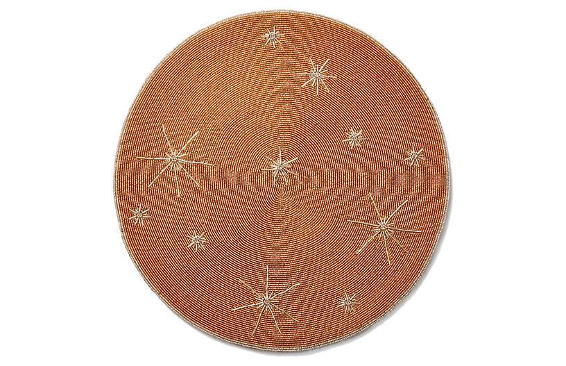 Star Beaded Place Mat