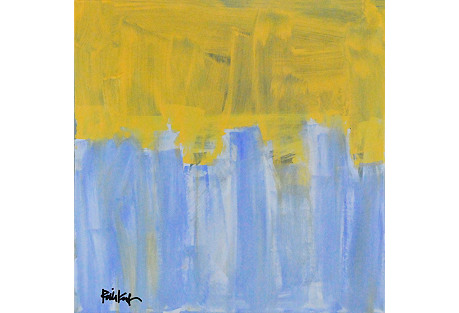 Robbie Kemper, Yellow over Blue Marks