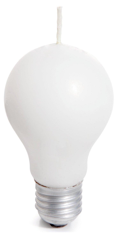 S/2 Light Bulb Candles