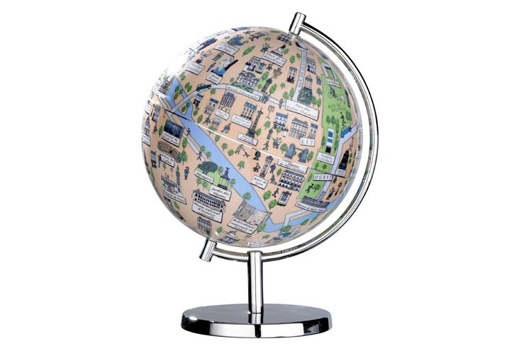 Paris 9-inch Globe
