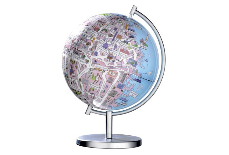 San Francisco 9-Inch Globe