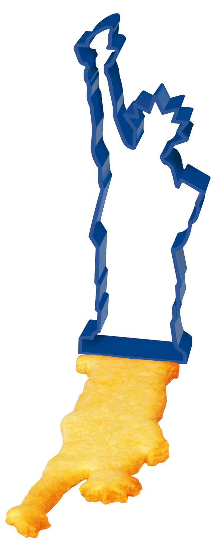 S/3 New York Cookie Cutters, Blue