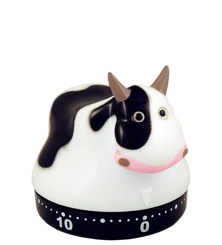 S/2 Cow Kitchen Timers