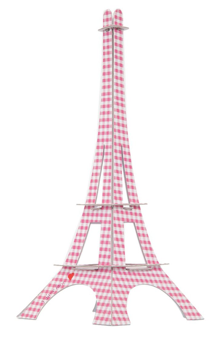 Eiffel Tower, Pink Checkers