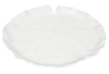 S/4 Melamine Dessert Plates, Lotus