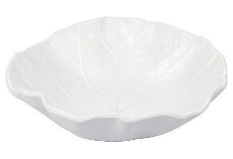 S/4 Melamine Bowls, Lotus