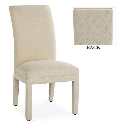 Monroe Side Chair, Mist