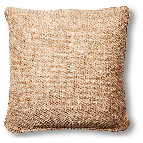 Hayfield 20x20 Pillow, Wheat