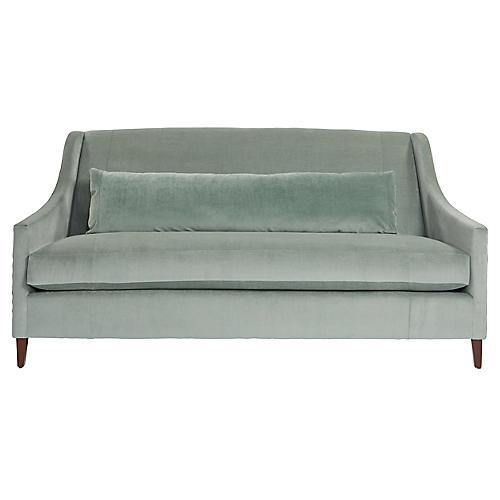 Dawes Sofa, Sage Velvet