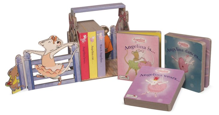 My First Angelina Ballerina Library