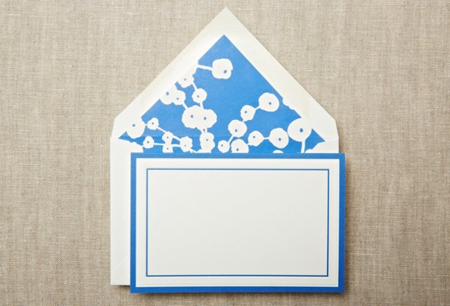 S/20 Panel Top-Fold Notes, Lapis Bar