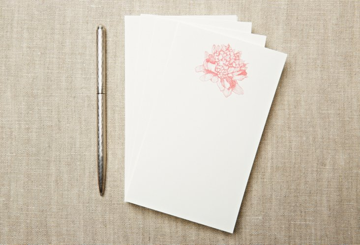 S/120 Jotter Refill Cards,  Peony