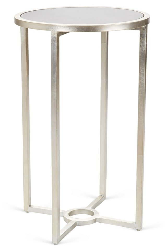 Palmer Side Table, Silver