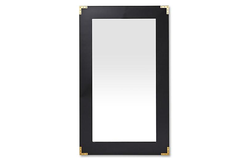 Lafayette Floor Mirror Black New Markdowns Must See