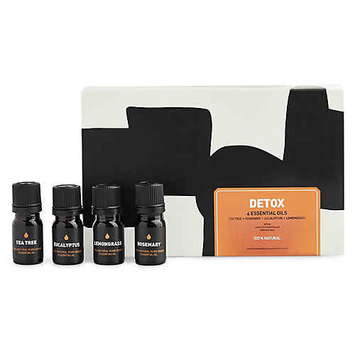 Detox Essential Oils Set