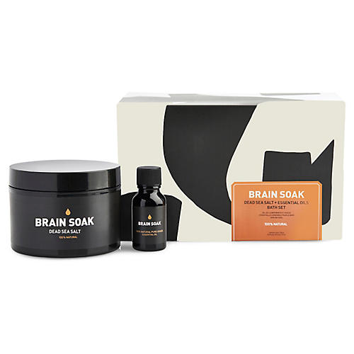 Brain Soak Bath Set