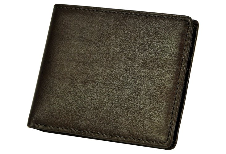 French Calfskin Slimfold Wallet