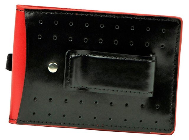 Stitched Panel Slimfold Wallet