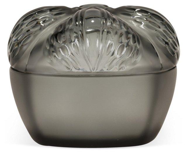 Lalique Art Deco Crystal Jewelry Box