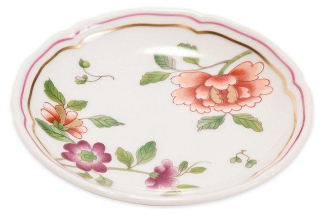 Richard Ginori Porcelain Floral Tray
