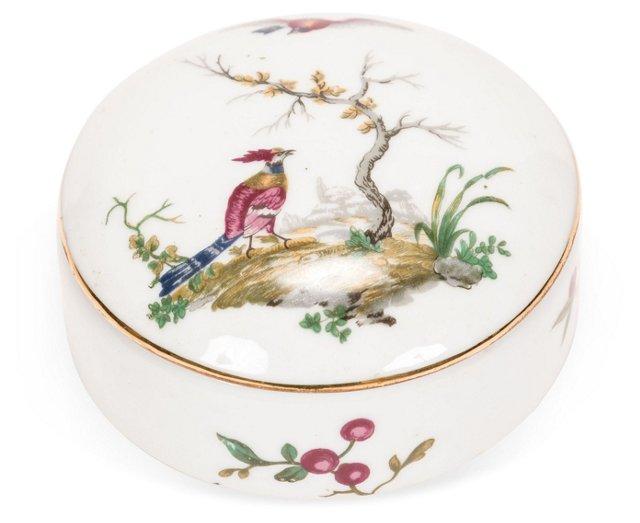 Porcelaine de Paris Vanity Box
