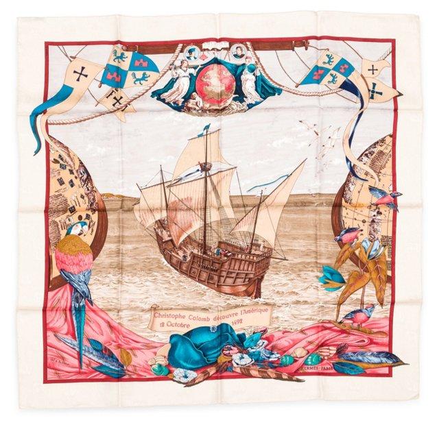 Hermès Christopher Columbus Scarf II