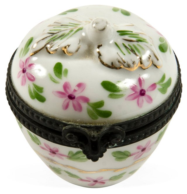 Porcelain & Ormolu Box