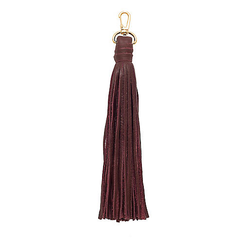 The Tassel, Burgundy/Gold