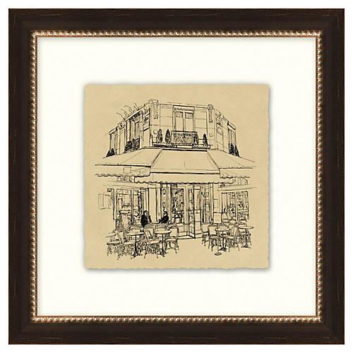 Vintage Parisian Etchings III
