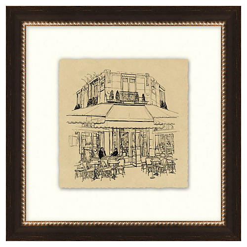 Vintage Parisian Etchings III