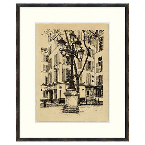 Vintage Parisian Etchings V