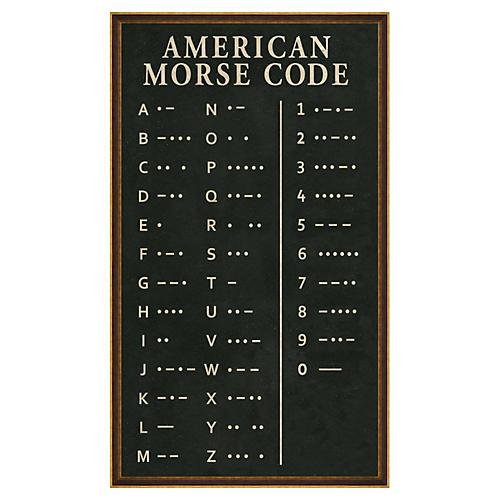 American Morse Code