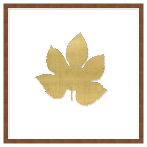 Gold Leaf 1, Shadowbox
