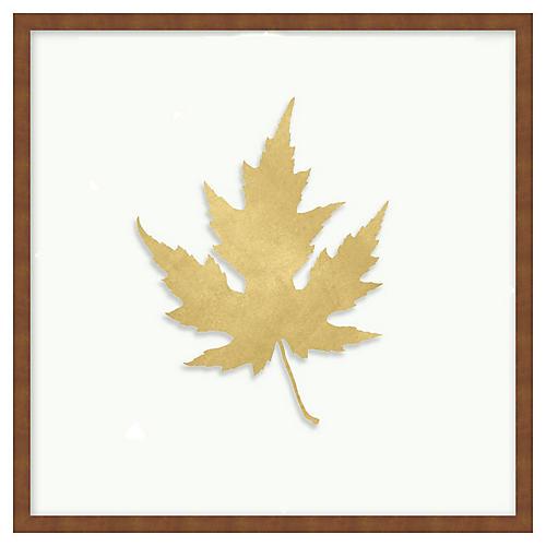 Gold Leaf 4, Shadowbox