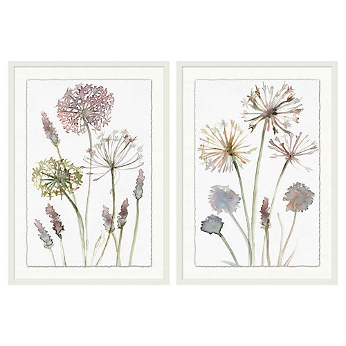 Wild Flowers 1 and 2
