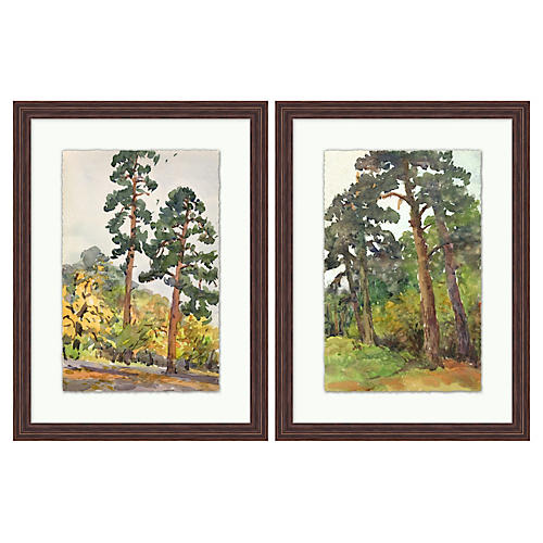 Forest Path 1 and 2