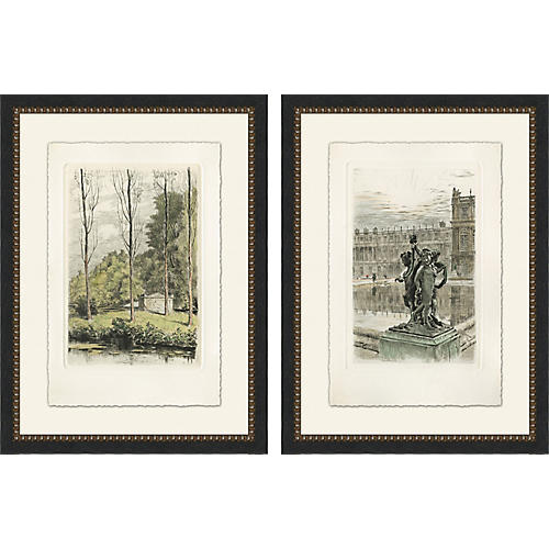 Estate Grounds Diptych