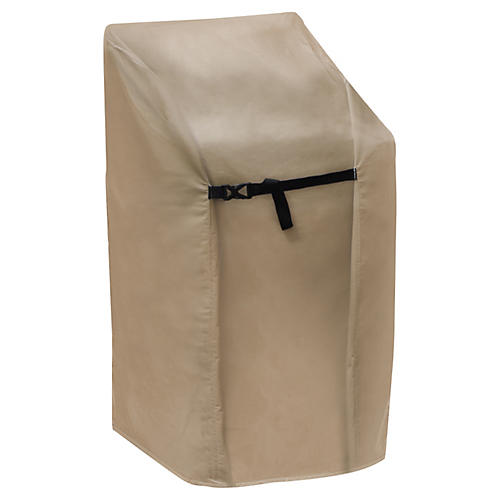 Stacking Chair Cover, Tan