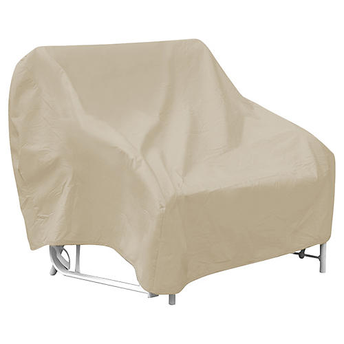 "54"" Two-Seat Glider Cover, Tan"