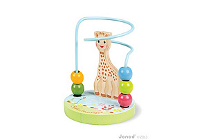 Sophie la Girafe Beaded Looping Toy