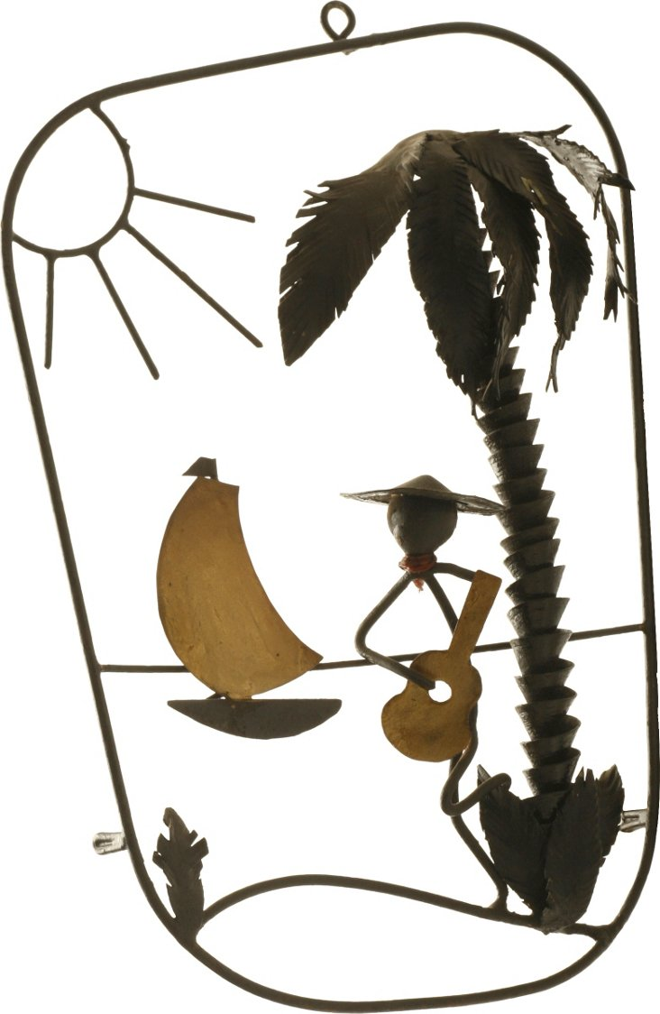 Caribbean Motif Pictorial